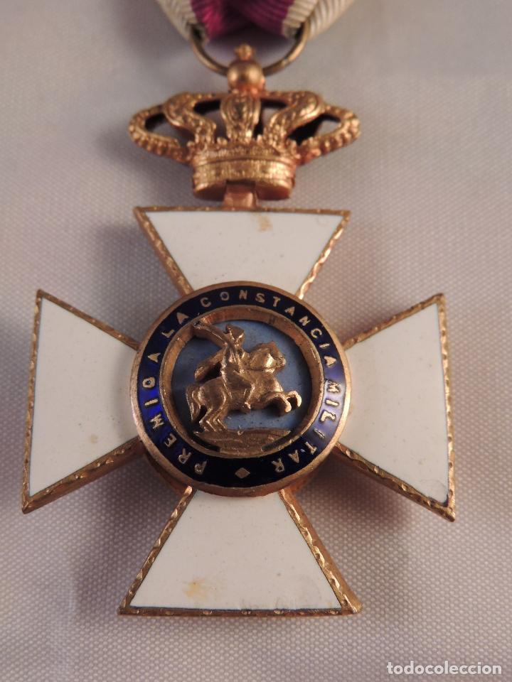 Militaria: MEDALLA MILITAR ORDEN DE SAN HERMENEGILDO PREMIO A LA CONSTANCIA FERNANDO VII - Foto 2 - 93773955