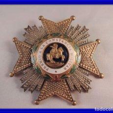 Militaria: MEDALLA O INSIGNIA MILITAR SAN HERMENEGILDO PREMIO A LA CONSTANCIA. Lote 93774355