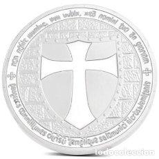 Militaria: MEDALLA CRUZ ORDEN DEL TEMPLE. TEMPLARIO. Lote 93835435