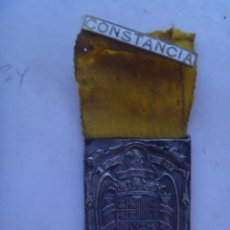 Militaria: GUERRA CIVIL : MEDALLA DE LAS DAMAS AUXILIARES DE SANIDAD MILITAR , PASADOR CONSTANCIA.. Lote 93840895