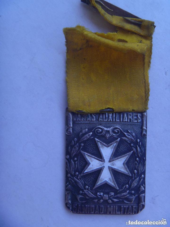 Militaria: GUERRA CIVIL : MEDALLA DE LAS DAMAS AUXILIARES DE SANIDAD MILITAR , PASADOR CONSTANCIA. - Foto 2 - 93840895