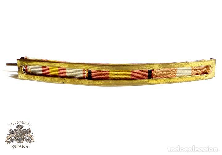 PASADOR 3 MEDALLAS (Militar - Cintas de Medallas y Pasadores)
