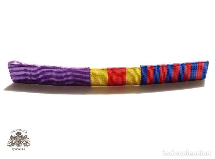 PASADOR MEDALLAS 11,5 CM LARGO (Militar - Cintas de Medallas y Pasadores)