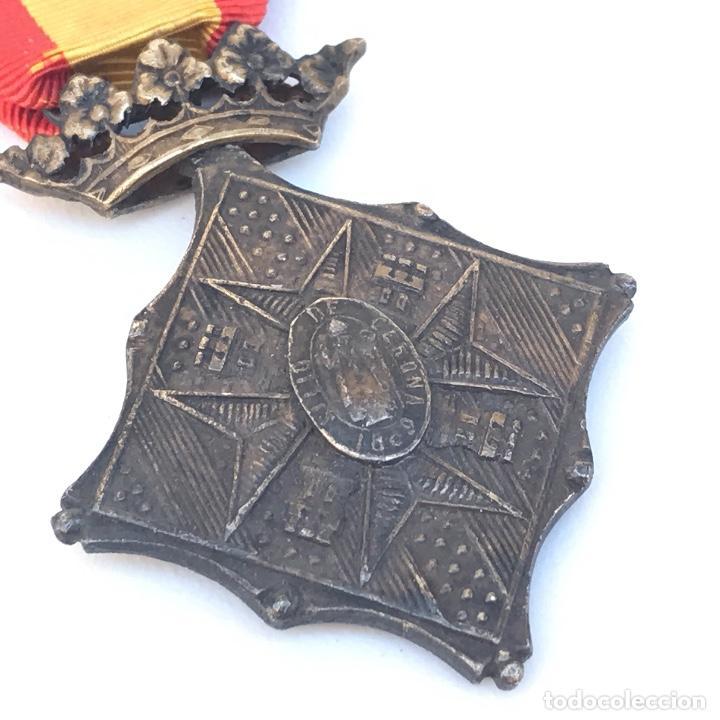MEDALLA DE CENTENARIO DE LA BATALLA DE GERONA. CATEGORÍA PLATA. (Militar - Medallas Españolas Originales )