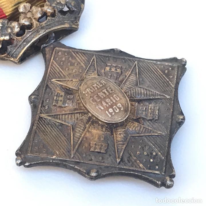 Militaria: Medalla de centenario de la Batalla de Gerona. Categoría plata. - Foto 3 - 155321553