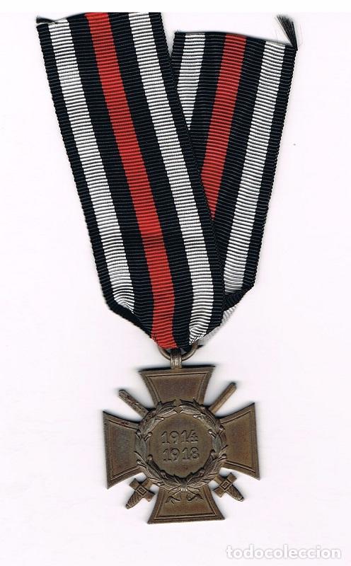 [CF5052] MEDALLA CRUZ DE HONOR HINDERBURG CON ESPADAS 1914-1918 (Militar - Reproducciones y Réplicas de Medallas )