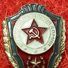 Militaria: ORIGINAL - URSS . CCCP - EXCELENCIA SOLDADO DE LA GUERRA FRIA. ESTADO MAYOR.. Lote 94855855