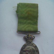 Militaria: GUERRA DE AFRICA : MEDALLA DE LA CAMPAÑA DE MARRUECOS. BAÑO DE PLATA. Lote 56727809