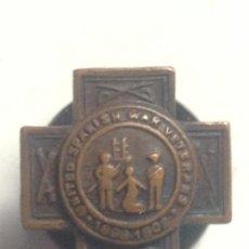 Militaria: MEDALLA MINIATURA SOLAPA GUERRA DE CUBA. 1898-1902. ESPAÑA – ESTADOS UNIDOS. VETERANO. Lote 95074119