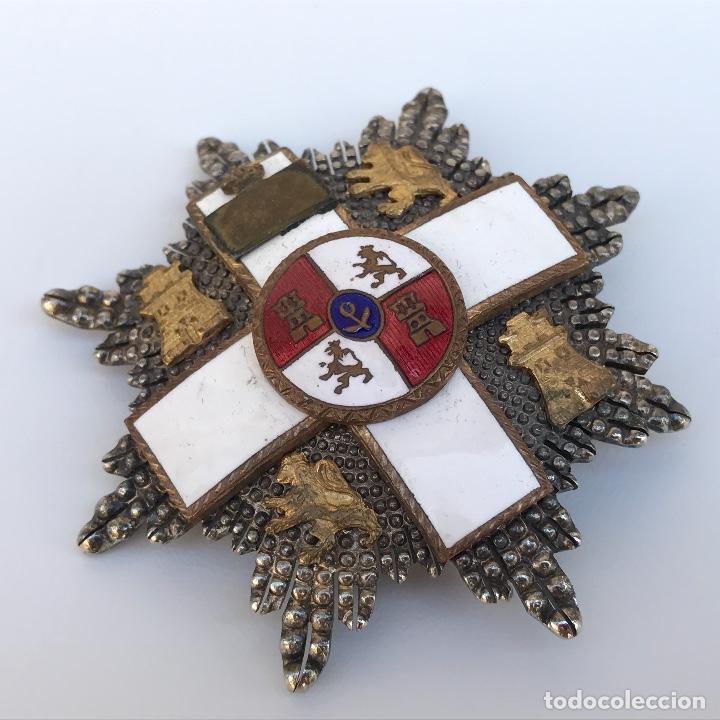 Militaria: Placa al Mérito Militar. Época transición 1976 viene con miniatura en plata. - Foto 2 - 95147711