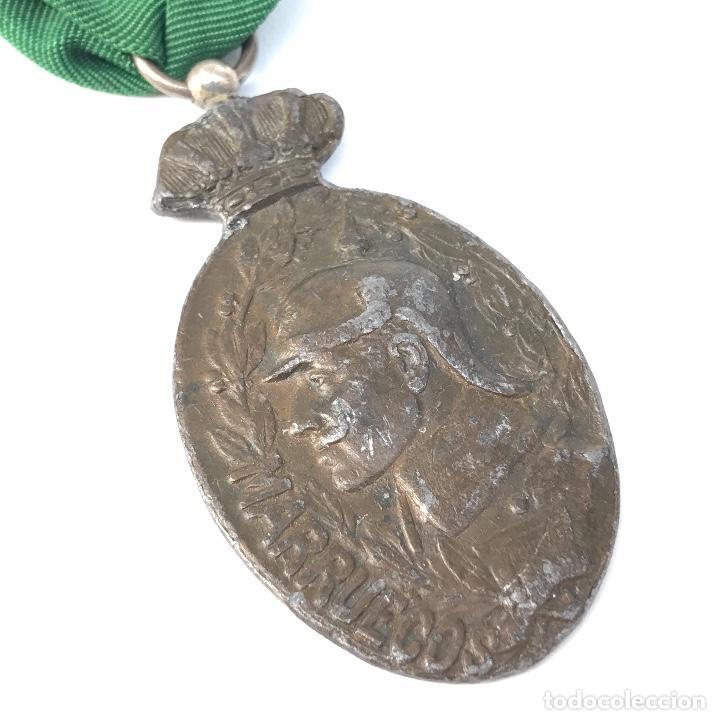 MEDALLA DE TROPA PARA LA CAMPAÑA DE MARRUECOS. ORIGINAL. (Militar - Medallas Españolas Originales )