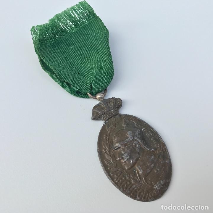 Militaria: Medalla de tropa para la campaña de Marruecos. Original. - Foto 2 - 155321728