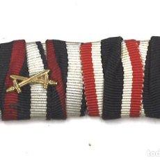 Militaria: PASADOR DE DIARIO DE MEDALLAS ALEMANAS. Lote 95415019