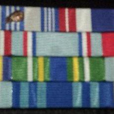 Militaria: USAF. US AIR FORCE. PASADOR ORIGINAL DE CONDECORACIONES.. Lote 95469559