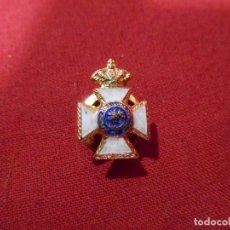 Militaria: INSIGNIA DE SOLAPA - PREMIO A LA CONSTANCIA MILITAR - ORDEN SAN HERMENEGILDO-ESMALTADA -. Lote 95556279
