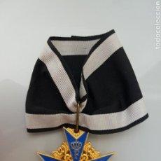Militaria: MEDALLA INSIGNIA POUR LE MÉRITE PRUSIA/ALEMANIA MÁX AZUL REPLICA. Lote 95815351