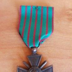 Militaria: MEDALLA INSIGNIA 1914 1918 REPÚBLICA FRANCESA 1A GUERRA MUNDIAL REPLICA. Lote 95818102
