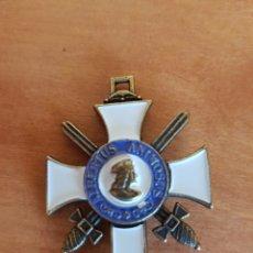 Militaria: MEDALLA INSIGNIA MILITAR ALBERTUS ANIMOSUS 1850 SAJONIA REPLICA. Lote 95819412