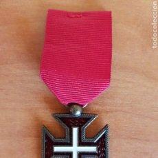 Militaria: MEDALLA INSIGNIA CRUZ ORDEN MILITAR DE CRISTO PORTUGAL REPLICA. Lote 95820727