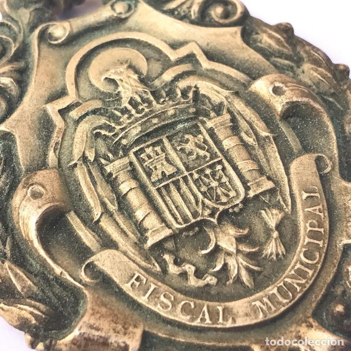 Militaria: Venera de Juez Municipal. Época Franco. Original. - Foto 2 - 245500010