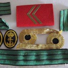 Militaria: LOTE DE CINTAS Y PARCHES. Lote 96321107