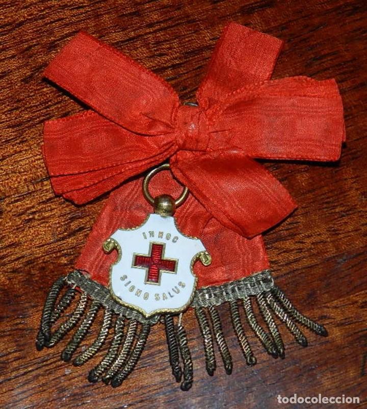 Militaria: Medalla Cruz Roja Española para Damas, 1912, epoca de Alfonso XIII. Rara y excepcional - Foto 2 - 96755335