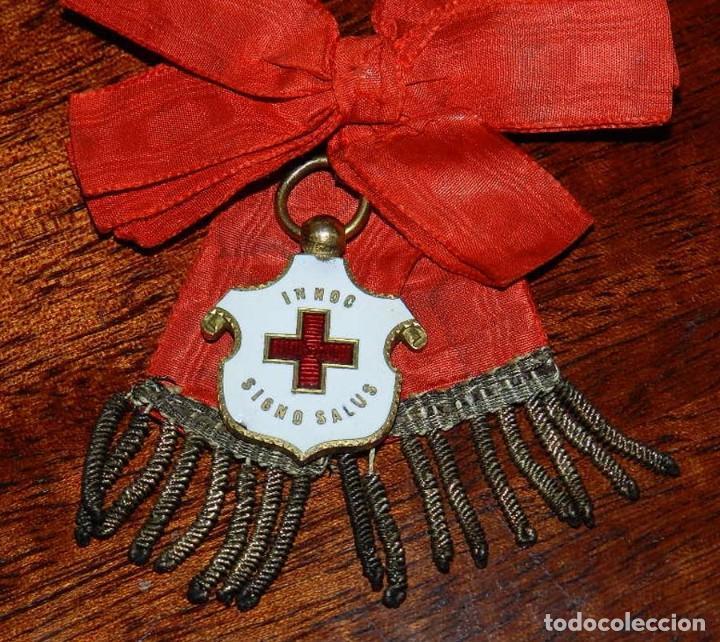 Militaria: Medalla Cruz Roja Española para Damas, 1912, epoca de Alfonso XIII. Rara y excepcional - Foto 4 - 96755335