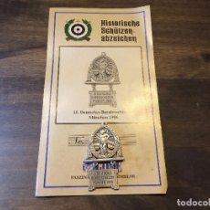 Militaria: MEDALLA DEL 15 ANIVERSARIO DE LA FILMACIÓN ALEMANA. Lote 96794251