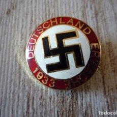 Militaria: PIN PARTIDO NAZI DEUTSCHLAND ERWACHE 1933. Lote 96877091