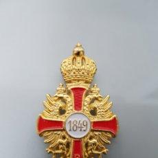 Militaria: MEDALLA INSIGNIA MILITAR 1849 FRANCISCO JOSÉ I IMP. AUSTO HUNGARO REPLICA. Lote 96880351