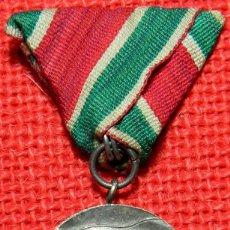 Militaria: ORIGINAL - BULGARIA – MEDALLA DE LA VICTORIA EN LA 2 GM EN LA GUERRA PATRIÓTICA 1944 – 1945.. Lote 96940803