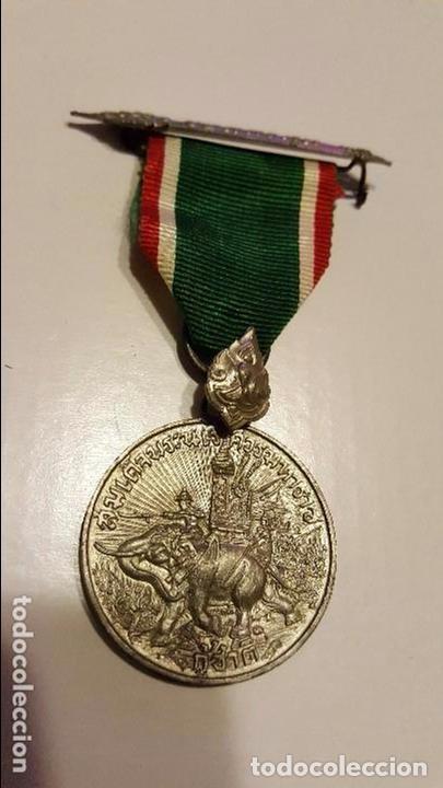 WWII TAILANDIA. MEDALLA COMBATE SURESTE ASIÁTICO. AÑO 1942 (Militar - Medallas Extranjeras Originales)