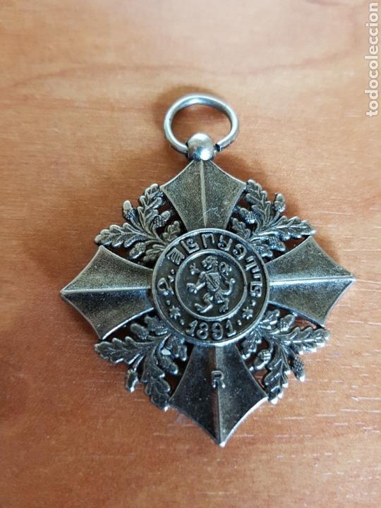 Militaria: MEDALLA AL MÉRITO MILITAR 1891 BULGARIA REPLICA - Foto 2 - 97064290