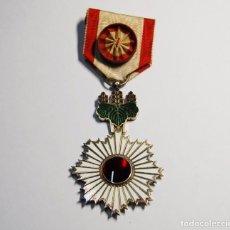 Militaria: MEDALLA JAPONESA PLATA MACIZA ORDEN DEL SOL NACIENTE DE 4ª CLASE.SEGUNDA GUERRA MUNDIAL.. Lote 97081879