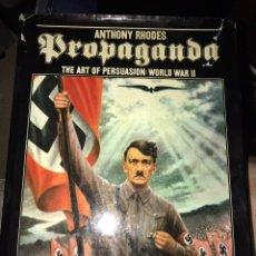 Militaria: LIBRO PROPAGANDA THE ART OF PERSUACION II GM ALEMANIA. Lote 97224450