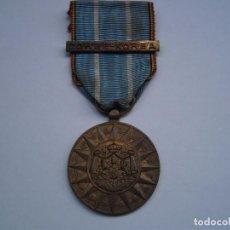 Militaria: BELGICA-MEDALLA CONMEMORATIVA DE COREA, 1 PASADOR DE BATALLAS EN SU CINTA ORIGINAL.. Lote 82535960