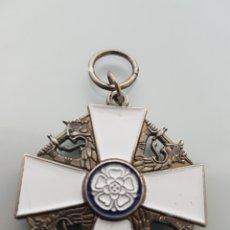 Military - MEDALLA DE LA ORDEN DE LA ROSA BLANCA FINLANDIA REPLICA - 97368028