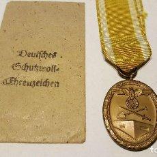 Militaria: WWII. ALEMANIA. MEDALLA DEL MURO DEL ATLANTICO. 1939 1945. Lote 97478795