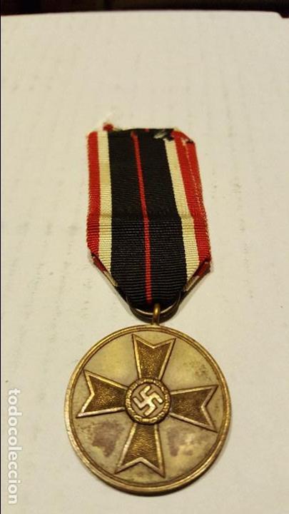 WWII. ALEMANIA. MEDALLA AL MERITO MILITAR. CATEGORIA BRONCE (Militar - Medallas Extranjeras Originales)