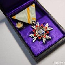 Militaria: MEDALLA JAPONESA PLATA MACIZA ORDEN DEL SAGRADO TESORO DE 6ª CLASE.SEGUNDA GUERRA MUNDIAL.. Lote 97790035