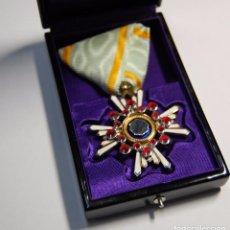 Militaria: MEDALLA JAPONESA PLATA MACIZA ORDEN DEL SAGRADO TESORO DE 5ª CLASE.SEGUNDA GUERRA MUNDIAL.. Lote 97790795
