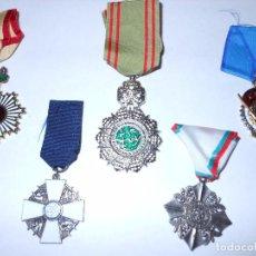 Militaria: LOTE DE MEDALLAS 3. Lote 97911087
