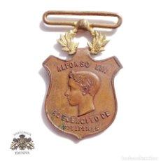 Militaria: MEDALLA ALFONSO XIII - DISTINCIÓN AL EJERCITO DE FILIPINAS.. Lote 98164983