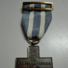 Militaria: MERITO DE GUERRA ITALIANA. DIVISIÓN AZUL.. Lote 98599895