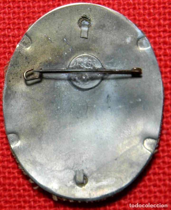 Militaria: S.A. Sturmabteilung – 1938 – Für treue dienste. SA Gruppen Wettkëmpfe Hoomland. Medidas: 77 x 64 mm. - Foto 2 - 126497887