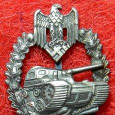 Militaria: HEER PLACA DE ASALTO PANZER. PANZERKAMPFABZEICHEN. TANK BADGE. 75. MEDIDAS: 67 X 50 MM. Lote 99083907