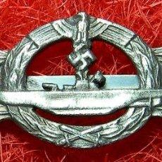 Military - Kriegsmarine. Pasador U-Boote. Version plata. Dimensiones: 75 x 25 mm. Metalica. - 99086055