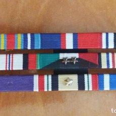 Militaria: PASADOR PARA 9 MEDALLAS EJERCITO AMERICANO. Lote 99852499