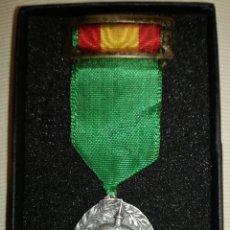 Militaria: ANTIGUA MEDALLA PLATA ALFONSO XIII.. Lote 100651138