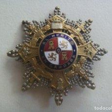 Militaria: GUERRA CIVIL : GRAN PLACA DEL MERITO MILITAR EN CAMPAÑA . EPOCA DE FRANCO. Lote 100721791